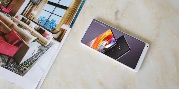 Xiaomi Mi Mix 2 blanco lanzamiento