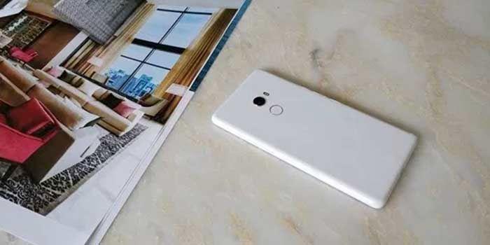 Xiaomi Mi Mix 2 blanco trasera