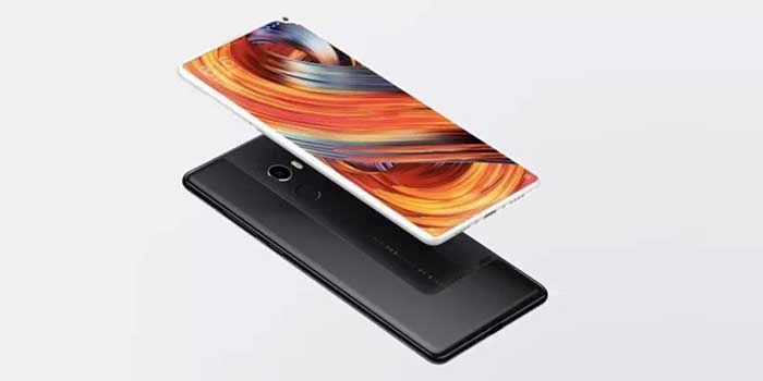 Xiaomi Mi Mix 2S notch camara