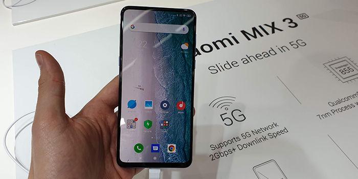 Xiaomi Mi Mix 3 5G reproduce videos 8K online