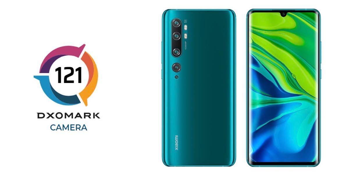 Xiaomi Mi Note 10 DxOMark