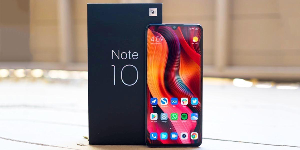 Xiaomi-Mi-Note-10 con nfc