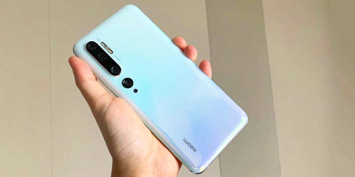 Xiaomi Mi Note 10 hands on