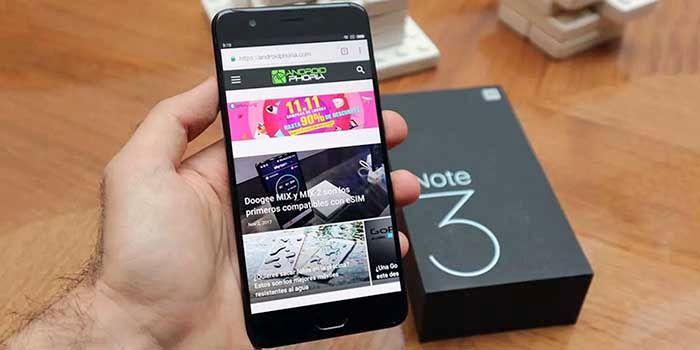 Xiaomi Mi Note 3 de oferta