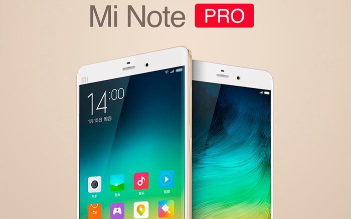 Xiaomi Mi Note y Mi Note Pro