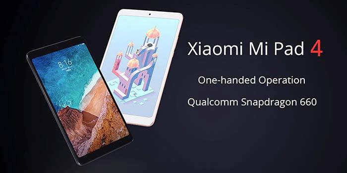 Xiaomi Mi Pad 4 Geekbuying