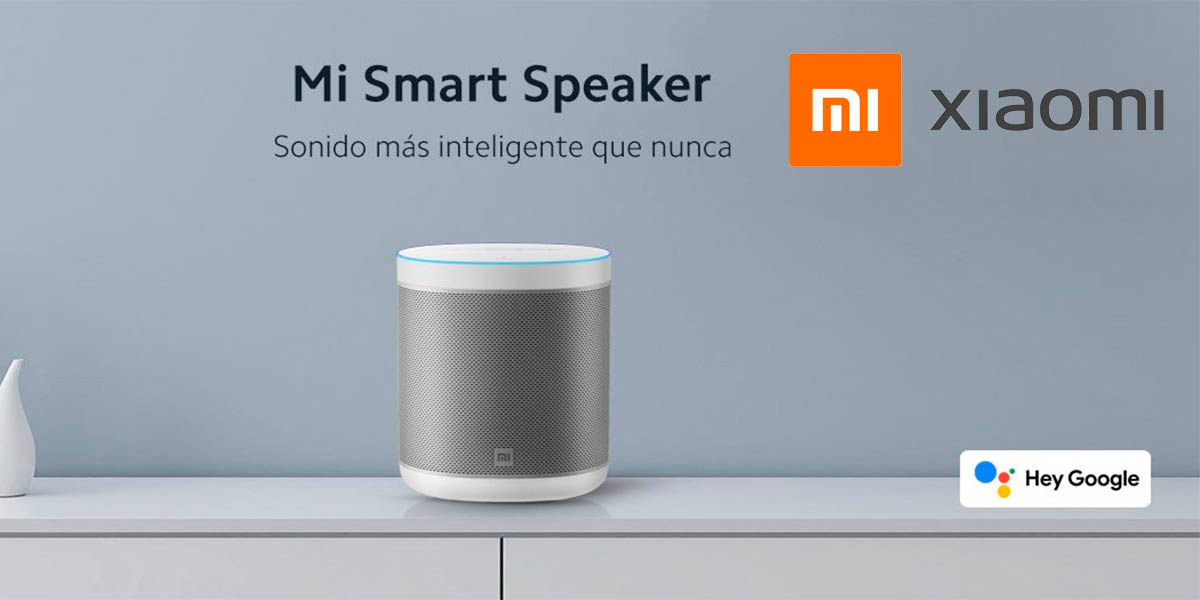 Xiaomi Mi Smart Speaker a la venta en España