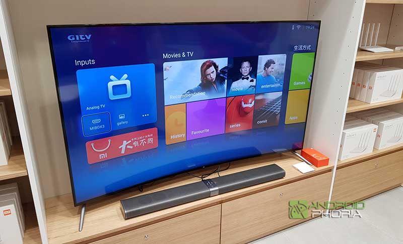 Xiaomi Mi TV 3S 65 pulgadas curva