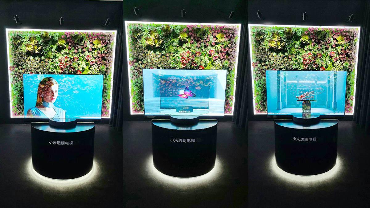 Xiaomi Mi TV LUX Transparent Edition caracteristicas