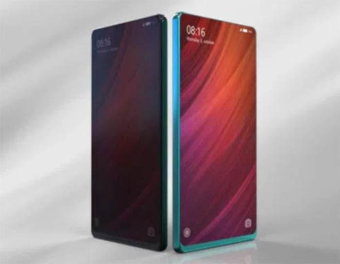 Xiaomi Mi mix 2 parte delantera