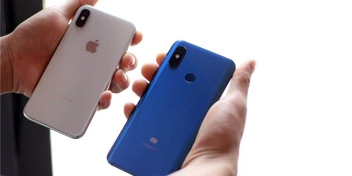 Xiaomi Mi 8 vs iPhone X mejor smartphone con notch