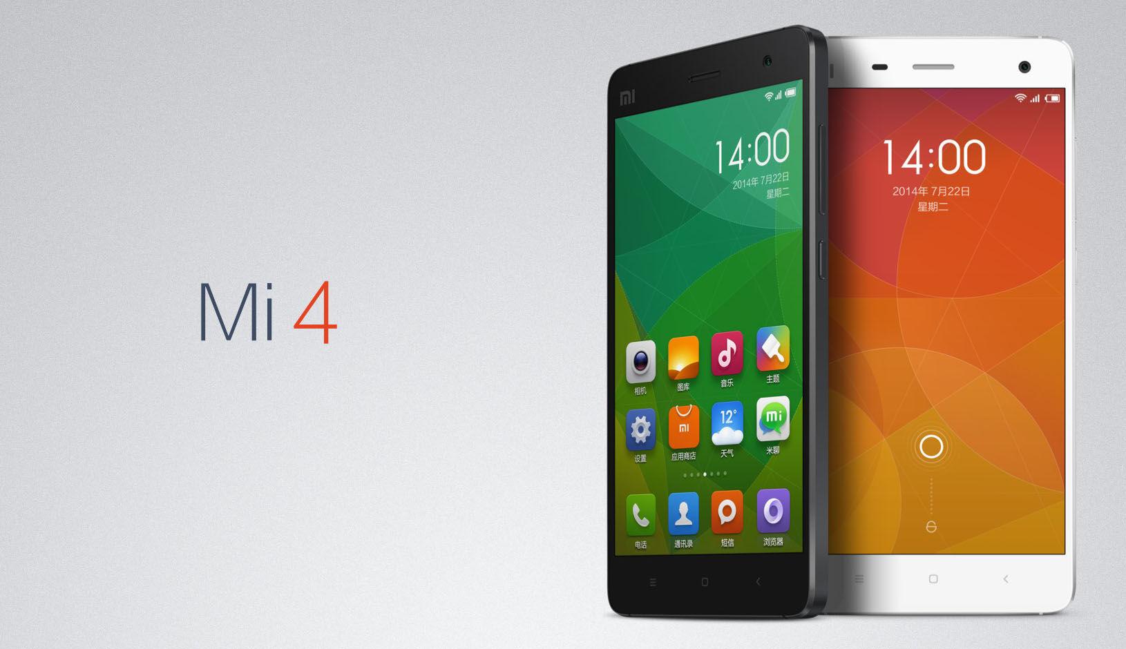 Xiaomi Mi4 mejor movil chino 2014