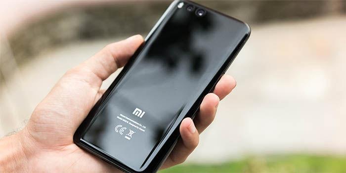 Xiaomi Mi6 parte trasera