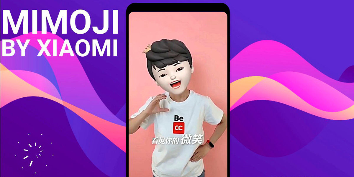 Xiaomi Mimoji copia de Memoji Apple
