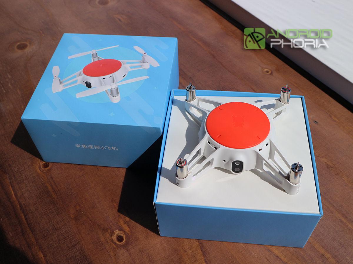 Xiaomi Mitu dron unboxing