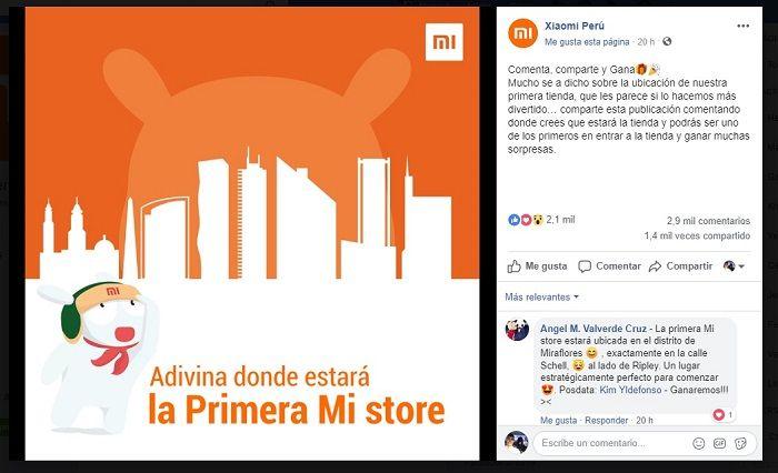 Xiaomi Perú
