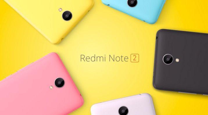 Xiaomi RedMi Note 2 Caracteristicas y Precio