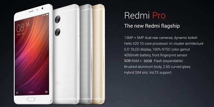 Xiaomi RedMi Pro Especificaciones