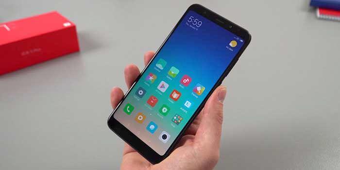 Xiaomi Redmi 5 Plus imagen real
