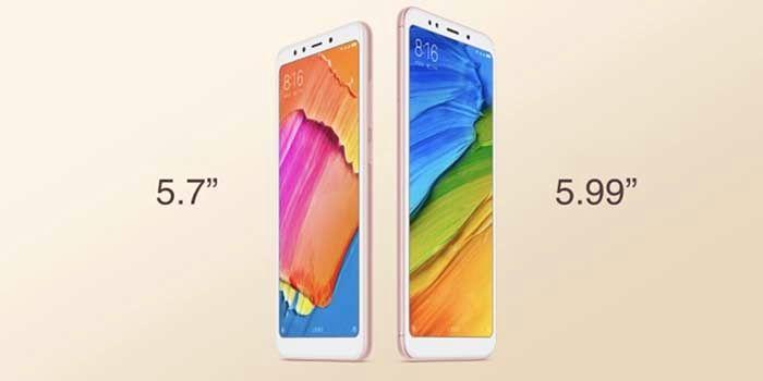 Xiaomi Redmi 5 y 5 Plus