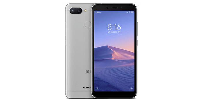 Xiaomi Redmi 6 precio caracteristicas