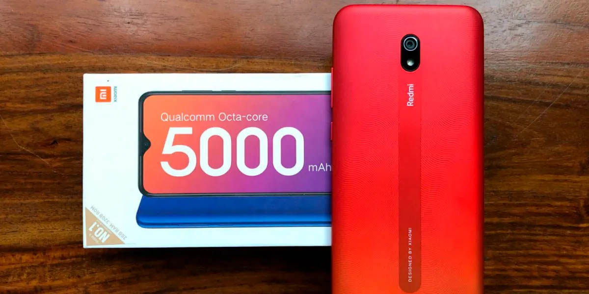 Xiaomi Redmi 8A el mejor gama baja al mejor precio y con batería de 5000 mah