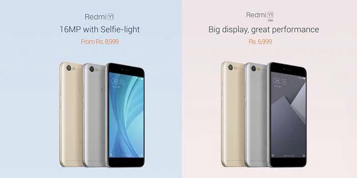 Xiaomi Y1 e Y1 Lite