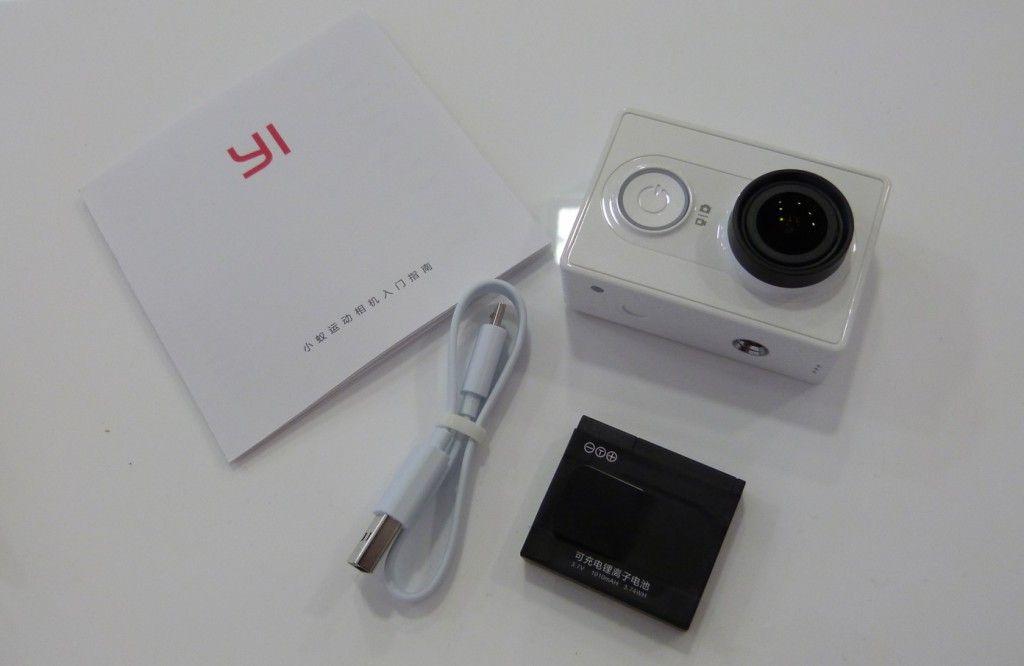 Xiaomi Yi - Contenido de la caja