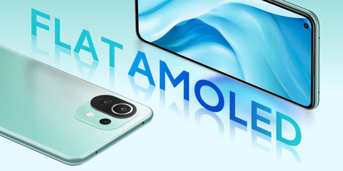 Xiaomi apuesta con los Mi 11 Lite por los paneles AMOLED equipados con grandes tecnologías