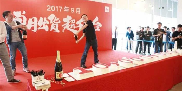 Xiaomi celebra el record de ventas en septiembre