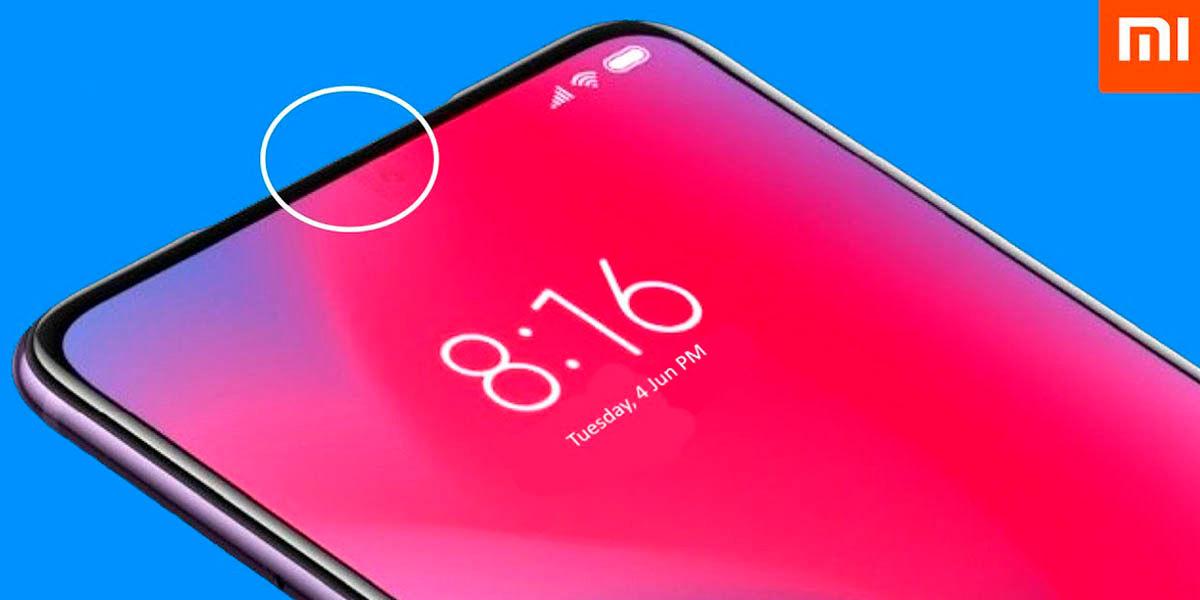 Xiaomi lanzara movil con camara frontal invisible en 2021