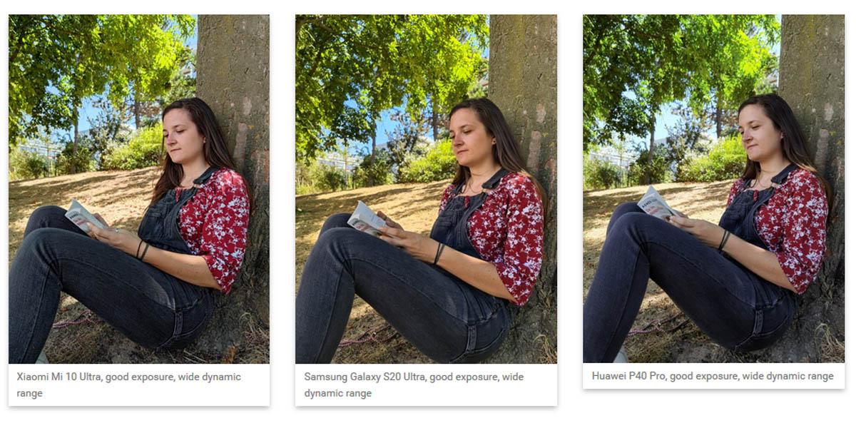 Xiaomi mi 10 ultra fotografía retrato dxomark
