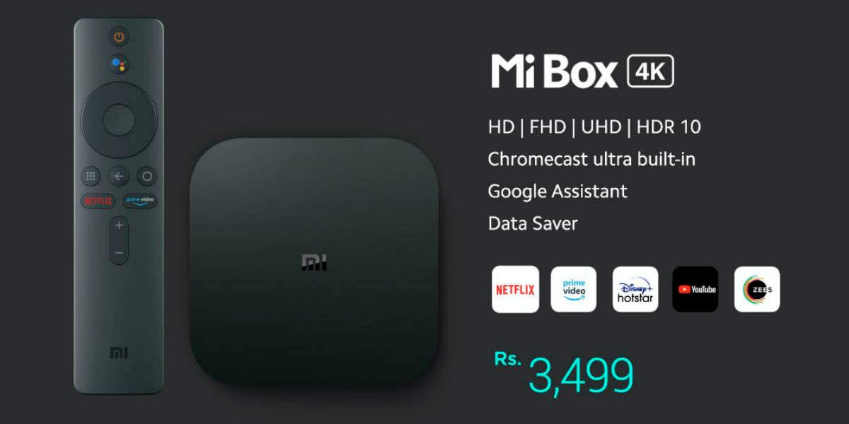 Xiaomi mi box 4k precio disponibilidad