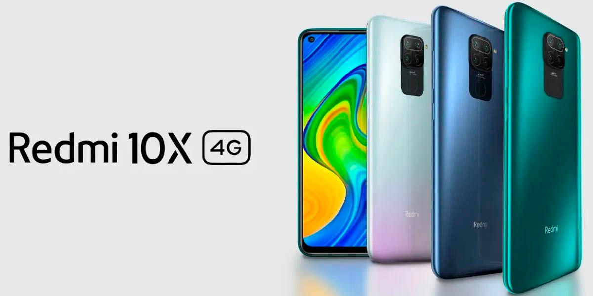 Xiaomi redmi 10x 4g lanzamiento precios características gama media android