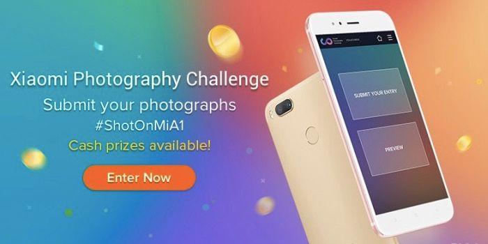Xiaomi te regala 30000 dólares por las fotos de tu Mi A1