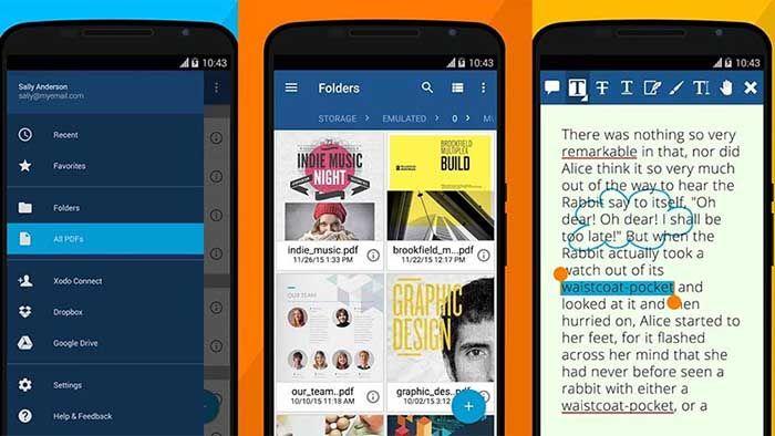 Xodo PDF Reader para Android