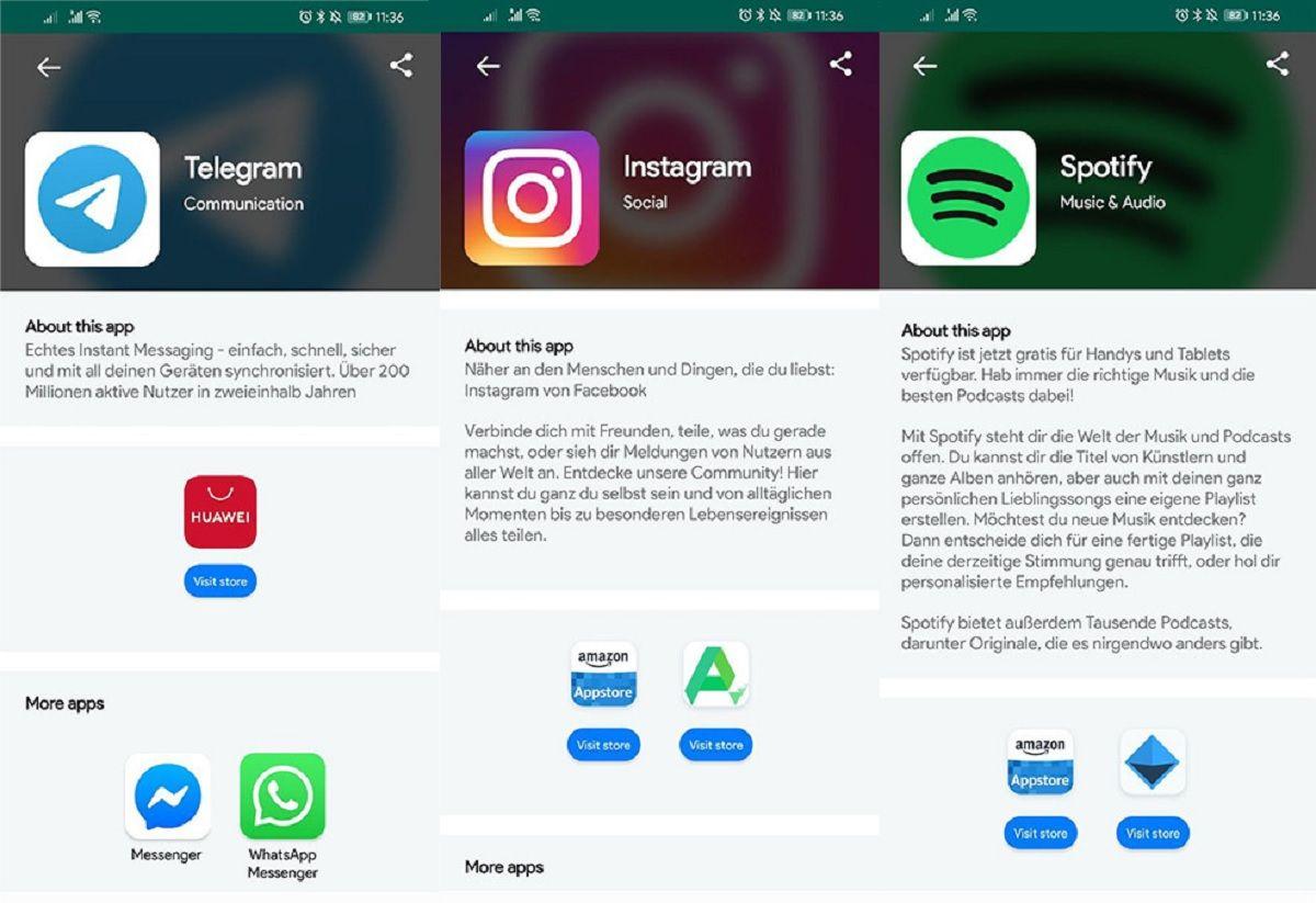 Ya es posible instalar WhatsApp o Facebook en los moviles Huawei sin Google Play