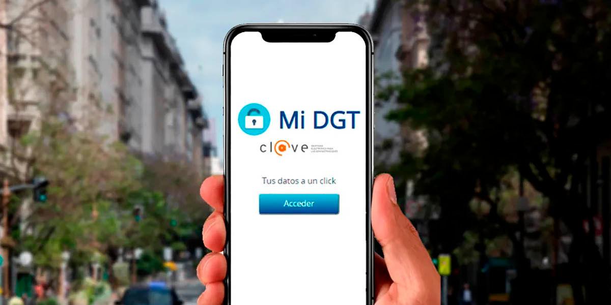 Ya puedes descargar miDGT Android iOS