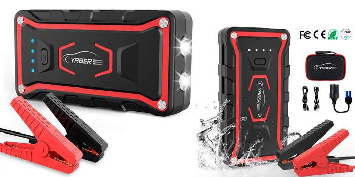 Yaber CEP007 jump starter protección agua