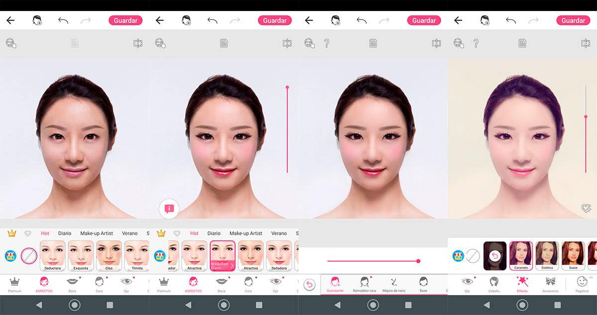 YouCam Makeup como funciona