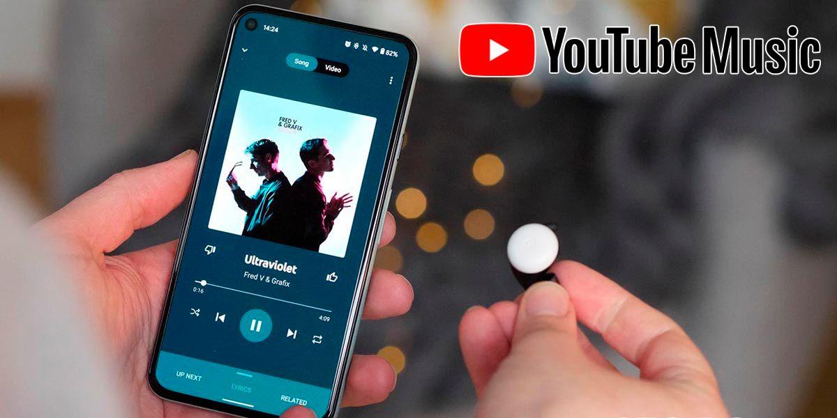 YouTube Music dejara escuchar musica con la pantalla bloqueada gratis