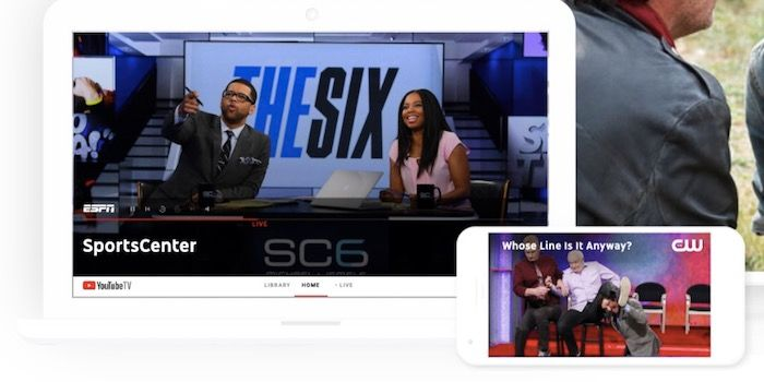 YouTube TV ya disponible para tablets Android