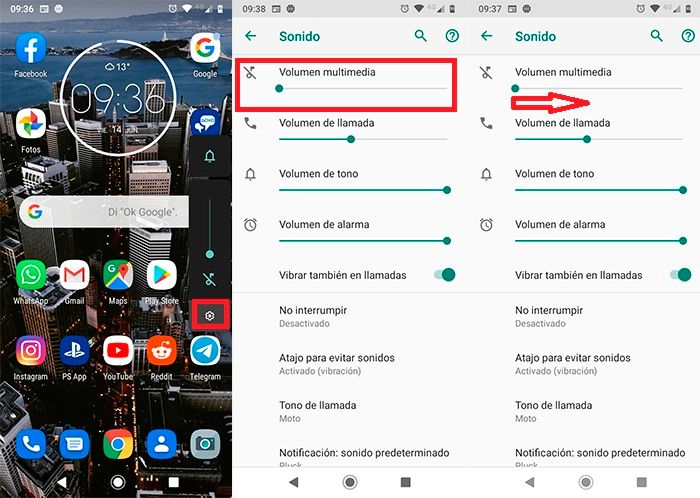 YouTube no se escucha Android Solucion 1