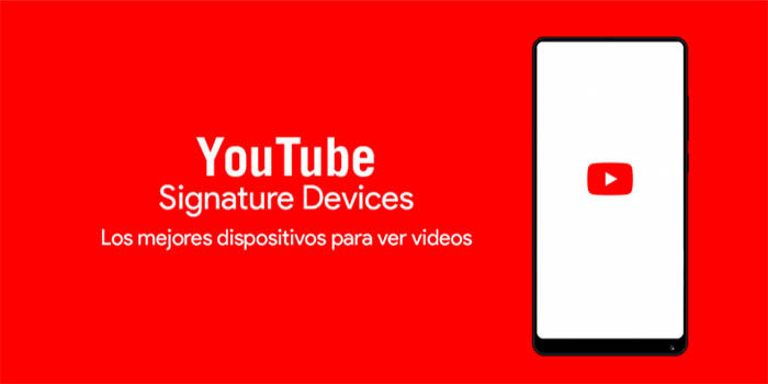 YouTube signature device