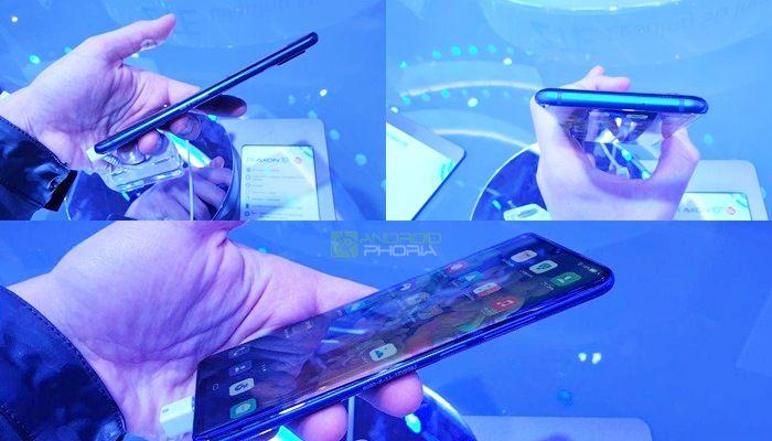 ZTE Axon 10 Pro 5G diseño con marcos reducidos