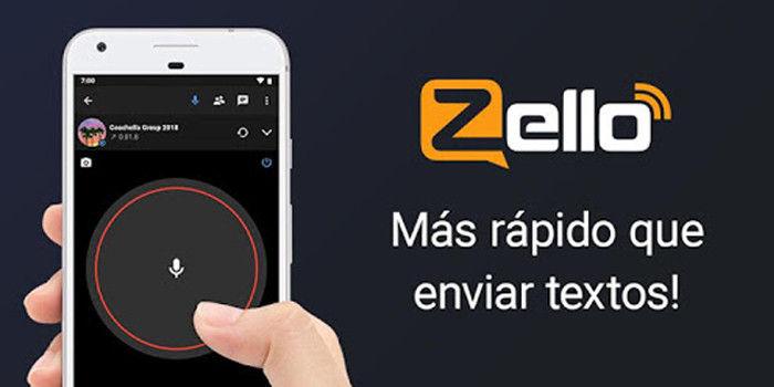 Zello mejor aplicación pulsa para hablar Android