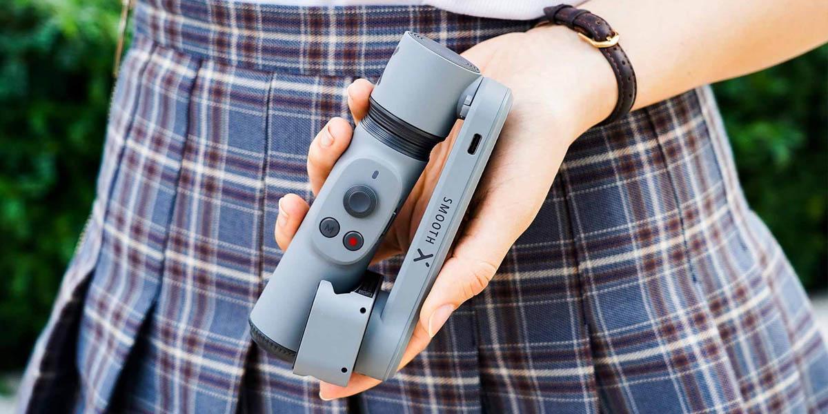 Zhiyun Smooth X el mejor gimbal para tu móvil para capturas en movimiento