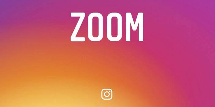 Zoom Instagram