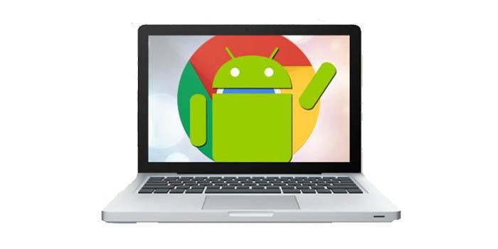 abrir aplicaciones de Android en Chrome