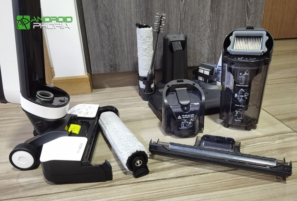 accesorios y partes de la Tineco Floor One S3